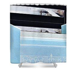 Railings Shower Curtain