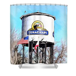 Shower Curtain featuring the photograph Railroad Park Tehachapi California Detail by Floyd Snyder