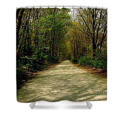 Rails To Trails Shower Curtain