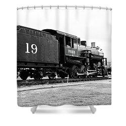 Railway Engine In Frisco Shower Curtain