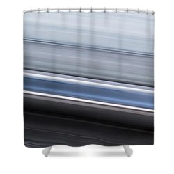 Shower Curtain featuring the photograph Railway Lines by John Williams