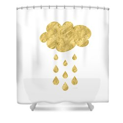 Rain Cloud- Art By Linda Woods Shower Curtain