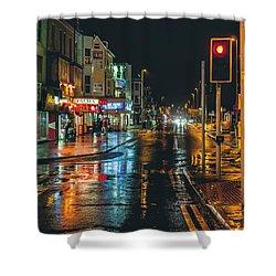 Rain Dogs Shower Curtain