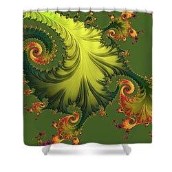 Rain Forest Shower Curtain by Susan Maxwell Schmidt