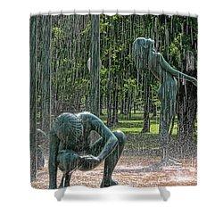 Rain Shower Curtain by Joel Witmeyer