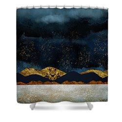 Rain Shower Curtain by Katherine Smit