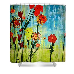 Rain Or Shine Shower Curtain by Ashley Price