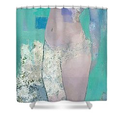 Rain Shower Curtain by Steve Mitchell