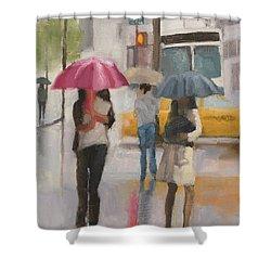 Rain Walk Shower Curtain