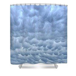 Rain Warning Shower Curtain