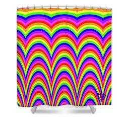 Rainbow #4 Shower Curtain