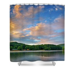Rainbow At Linville Land Harbor Shower Curtain
