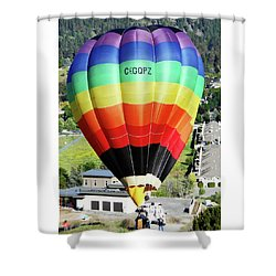 Rainbow Balloon 5 Shower Curtain