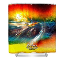 Shower Curtain featuring the photograph Rainbow Bliss #053329 by Barbara Tristan