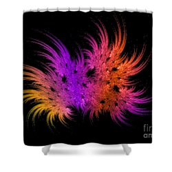 Rainbow Bouquet Shower Curtain