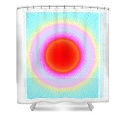 Rainbow Circle Shower Curtain