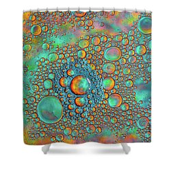 Rainbow Color Flow Shower Curtain by Bruce Pritchett