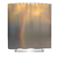 Rainbow Dream Shower Curtain by Jerry McElroy