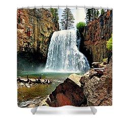 Rainbow Falls 15 Shower Curtain