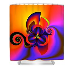 Rainbow Infusion Shower Curtain
