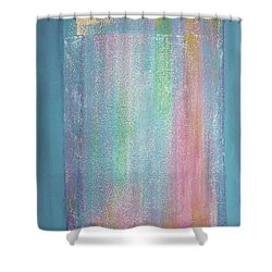 Rainbow Shower Of Light Shower Curtain