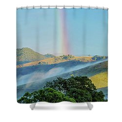 Shower Curtain featuring the photograph Rainbow Mountain by Az Jackson