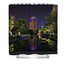 Rainbow Lights Shower Curtain