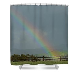 Rainbow On Valhalla Dr. Shower Curtain