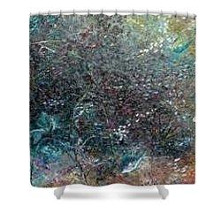 Rainbow Reef Shower Curtain by Karin  Dawn Kelshall- Best