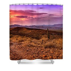 Rainbow Skies Shower Curtain