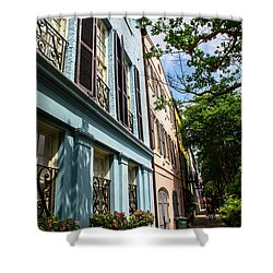 Shower Curtain featuring the photograph Rainbow Street by Karol Livote