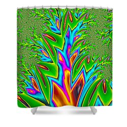 Shower Curtain featuring the photograph Rainbow Tree by Ronda Broatch