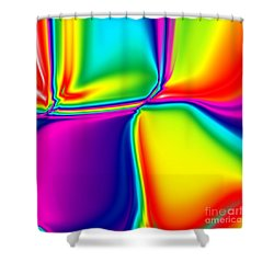 Rainbow Trip Shower Curtain