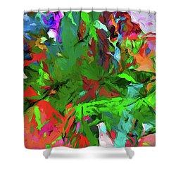Rainbow Tropic Shower Curtain