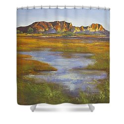 Rainbow Valley Northern Territory Australia Shower Curtain