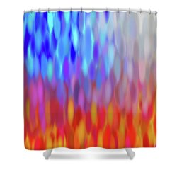 raindrops No.1 Shower Curtain