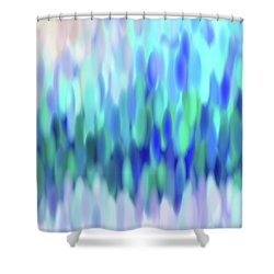 raindrops No.3 Shower Curtain