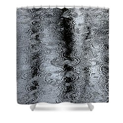 Raindrops On A Pond Shower Curtain