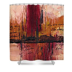 Rains Down Hell Shower Curtain