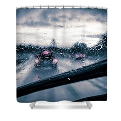 Rainy Day In July Shower Curtain