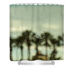 Rainy Daze Shower Curtain by Christopher L Thomley