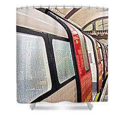 Rainy London Day Shower Curtain
