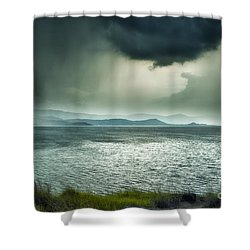 Rainy Mood Shower Curtain