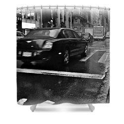 Shower Curtain featuring the photograph Rainy New York Day by Vannetta Ferguson