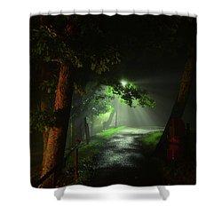 Rainy Night Shower Curtain