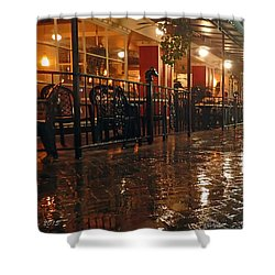Rainy Night In Gainesville Shower Curtain