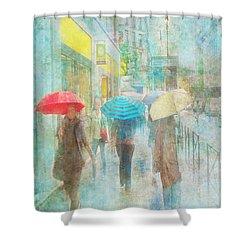 Rainy In Paris 5 Shower Curtain
