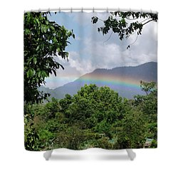 Rainy Season Back In The Rainforest Shower Curtain