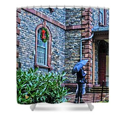 Shower Curtain featuring the photograph Rainy Sunday by Sandy Moulder