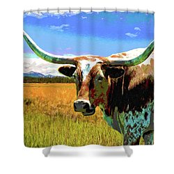 Raised In The Usa Shower Curtain